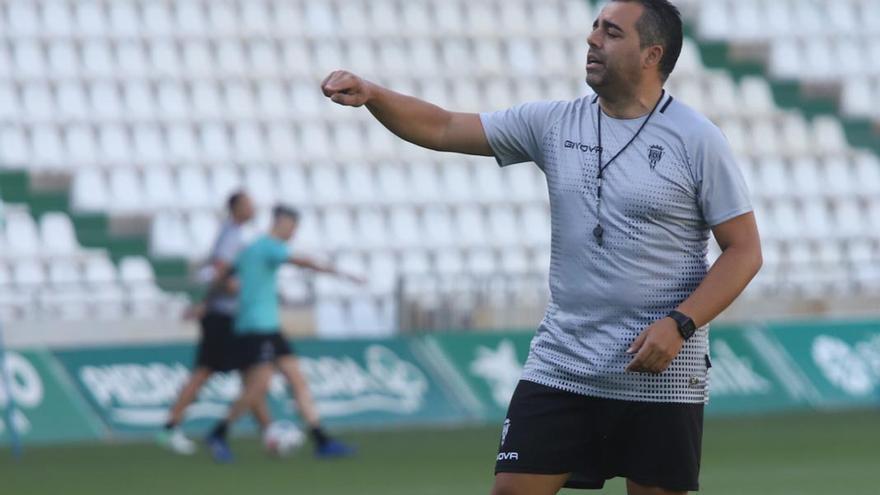 Germán Crespo eleva la exigencia en el Córdoba CF