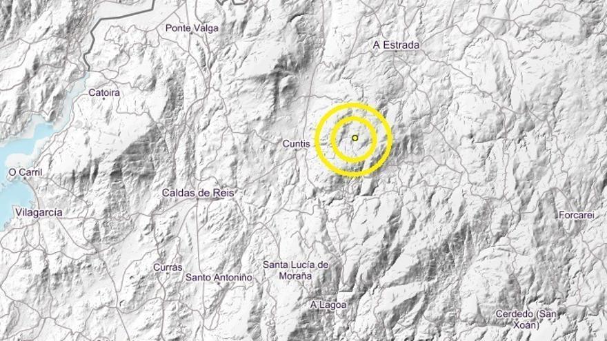 Cuntis, epicentro de un terremoto