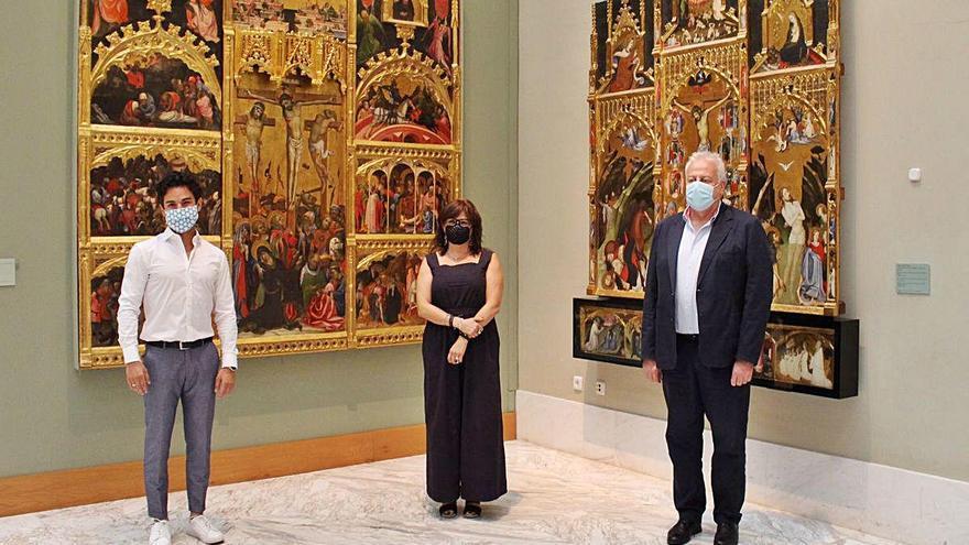 Reyero deja el Belles Arts y da paso al historiador valenciano Pablo González