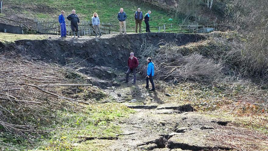 Hunosa actúa sobre 70 agujeros de minas para mejorar la seguridad y evitar accidentes
