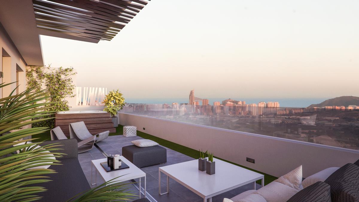 Seascape Resort responde plenamente al concepto actual de que las residencias vacacionales son ya el hogar habitual.