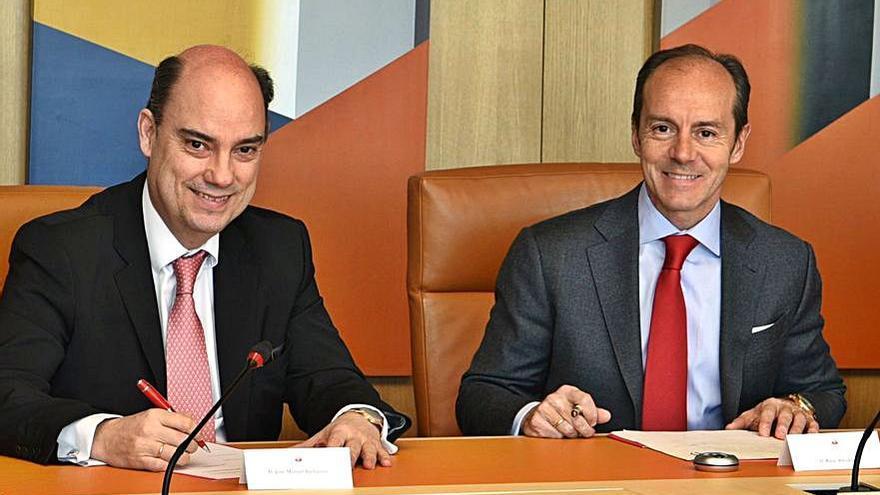 Mapfre ofrecerá en sus oficinas hipotecas y créditos al consumo de Santander