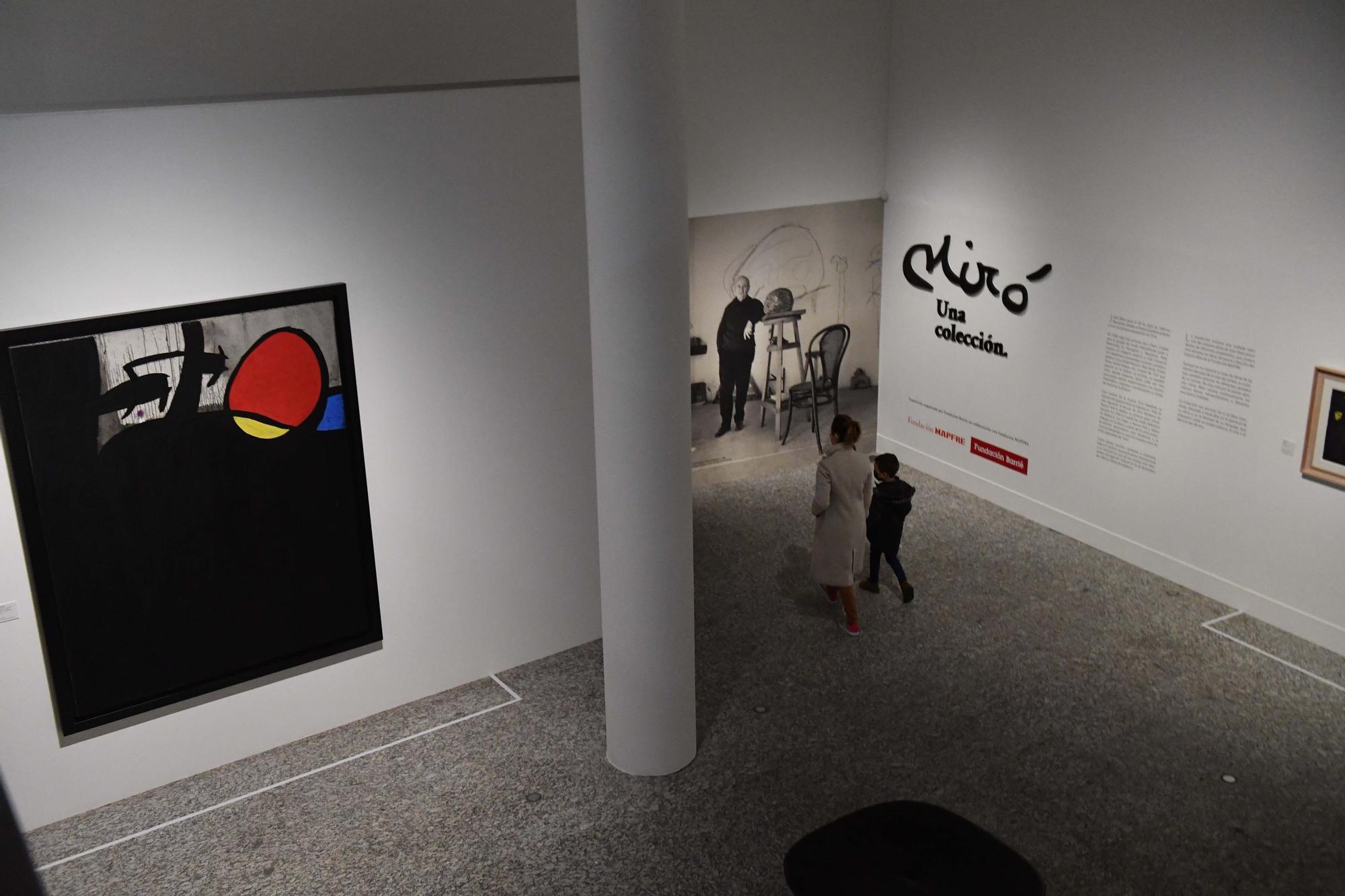 La Fundación Barrié inaugura su exposición de Miró