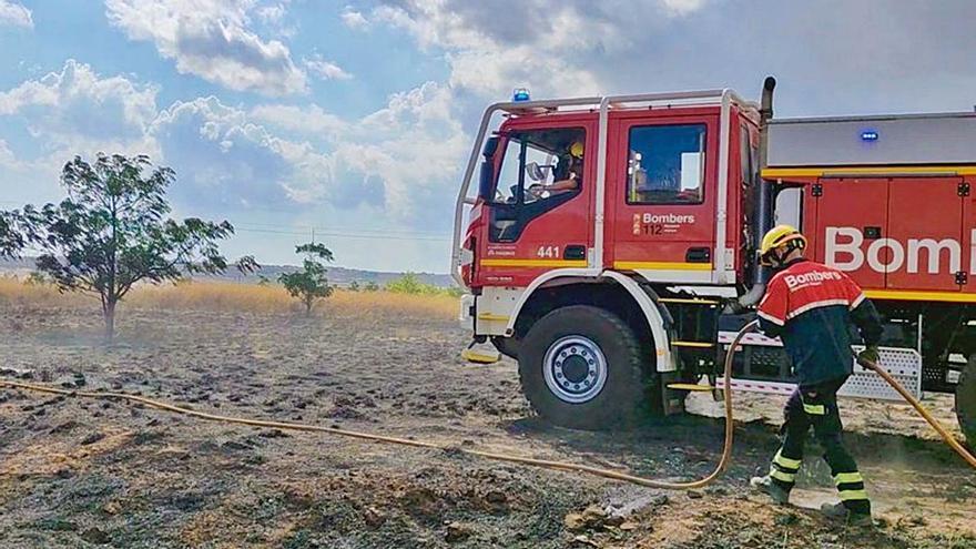 Abren una investigación por la oleada de incendios intencionados en Pinoso