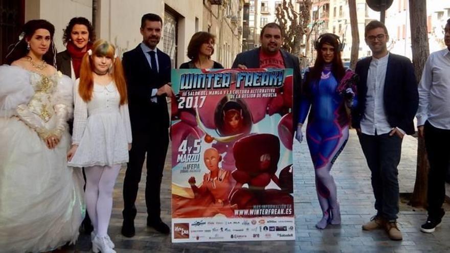 Videojuegos, manga y cosplay en  la nueva edición del Winter Freak