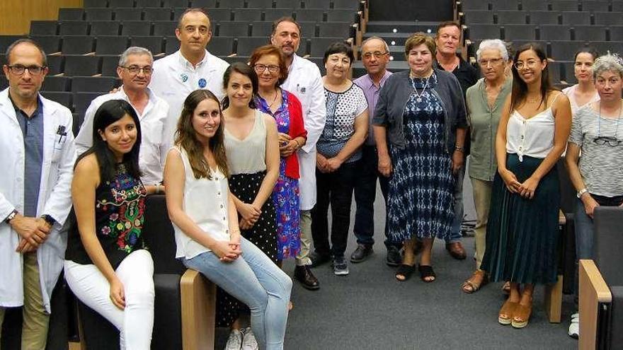 Sesión clínica dirigida a pacientes del síndrome de Sjögren