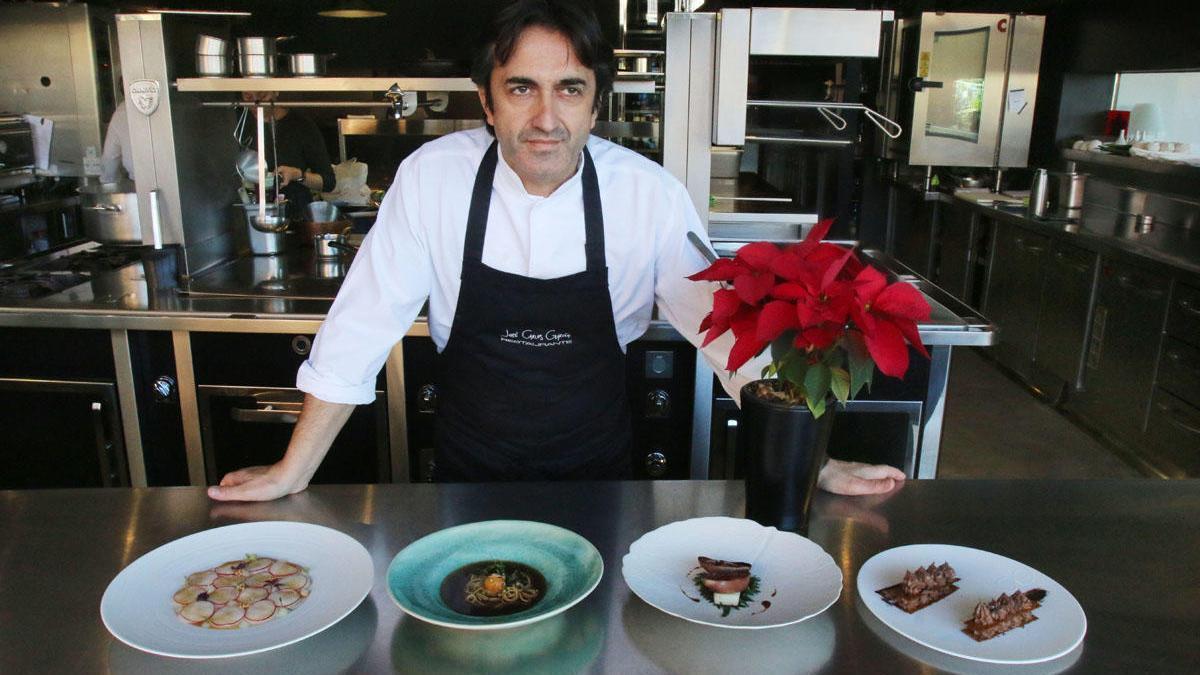 José Carlos García, uno de los cocineros andaluces con Estrella Michelin.