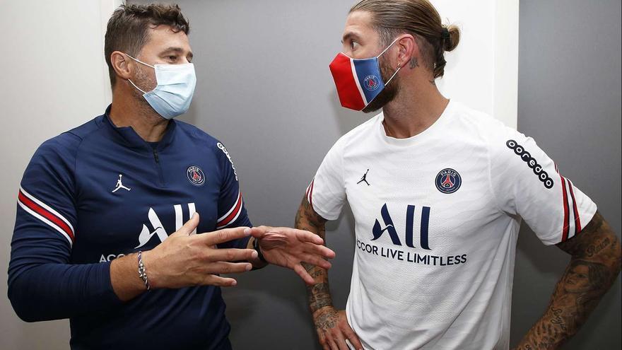 Ramos le manda un mensaje a Varane