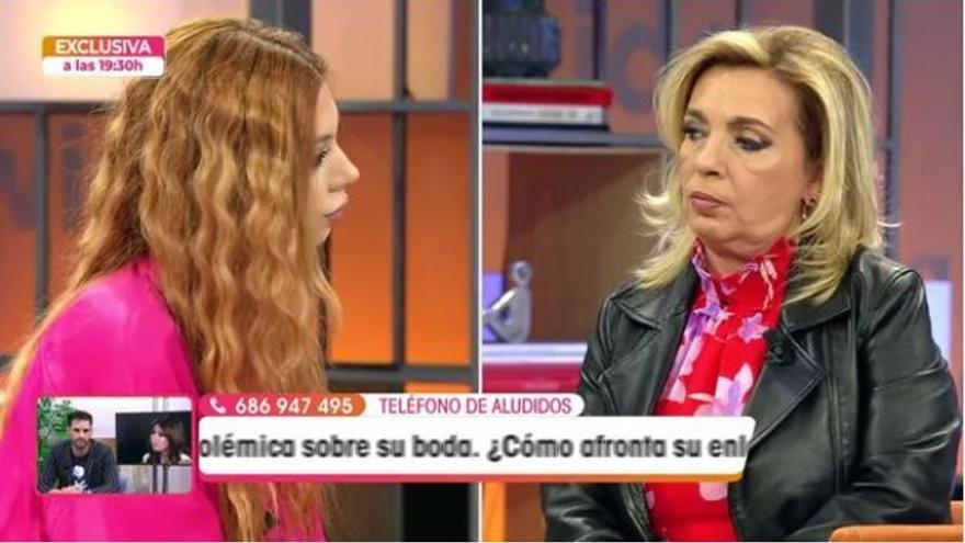 """Alejandra Rubio vive su momento más duro en televisión: """"Yo aquí vengo a hacer mi trabajo y punto"""""""