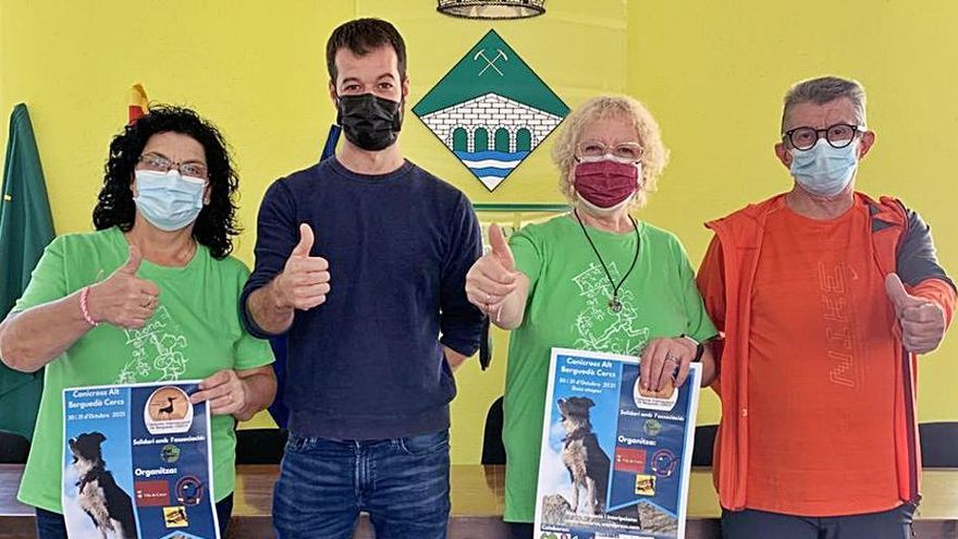 El Canicròs Internacional de l'Alt Berguedà torna a Cercs en format presencial