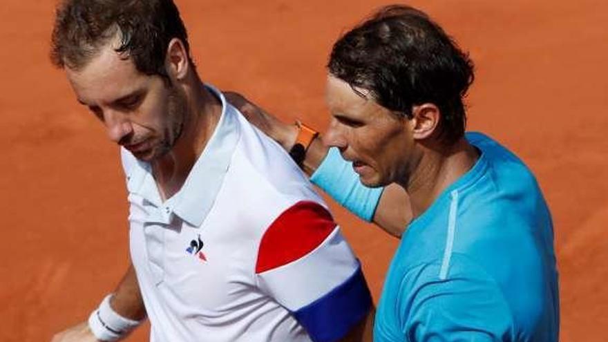Nadal sigue intratable en París y Del Potro elimina a Albert Ramos