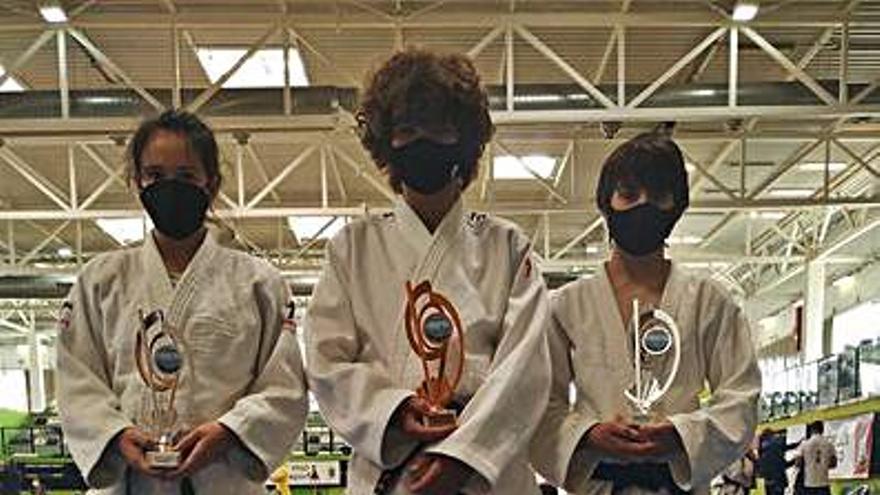 El Judo Club Base sube tres veces al podio en la Copa de España