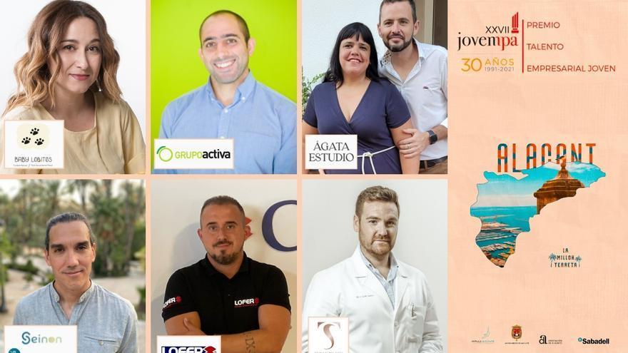 Elegidos los seis finalistas del Premio Jovempa al Talento Empresarial Joven