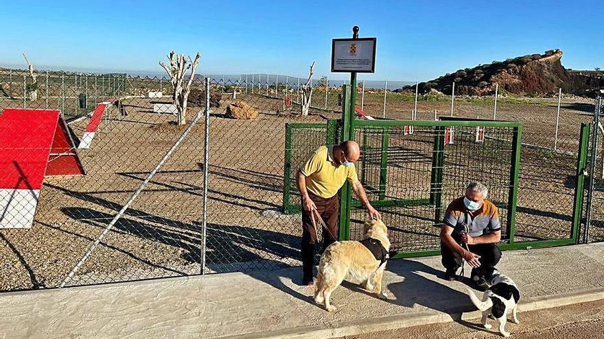 Parque para perros de Guargacho.