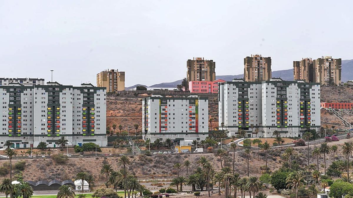 Edificios de Jinámar. | JUAN CASTRO