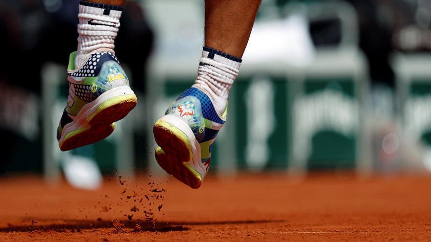 La tecnología de las zapatillas de Rafa Nadal en Roland Garros