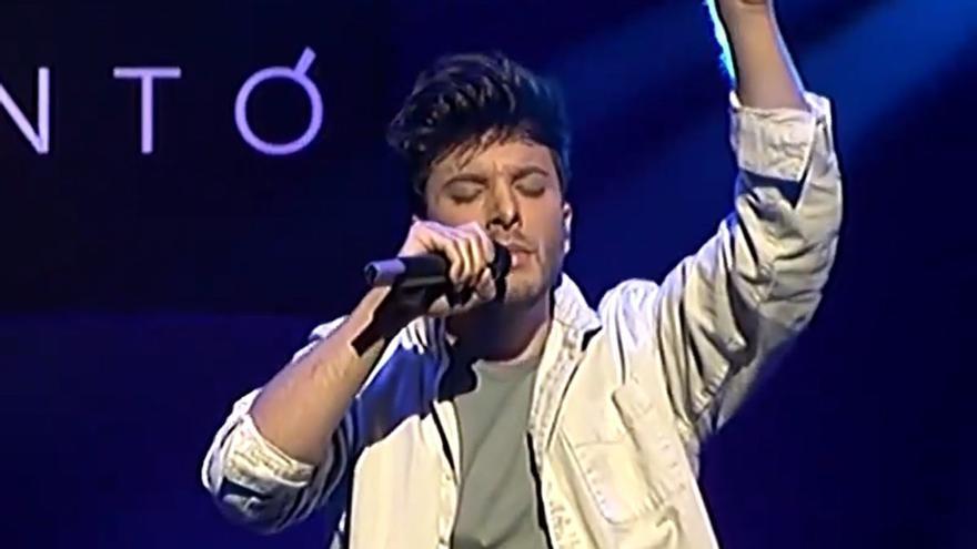 """Blas Cantó pone rumbo a Róterdam: """"Ir a Eurovisión es un sueño cumplido"""""""