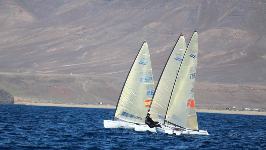 Segunda fase  de la Lanzarote Olympic Winter Regatta