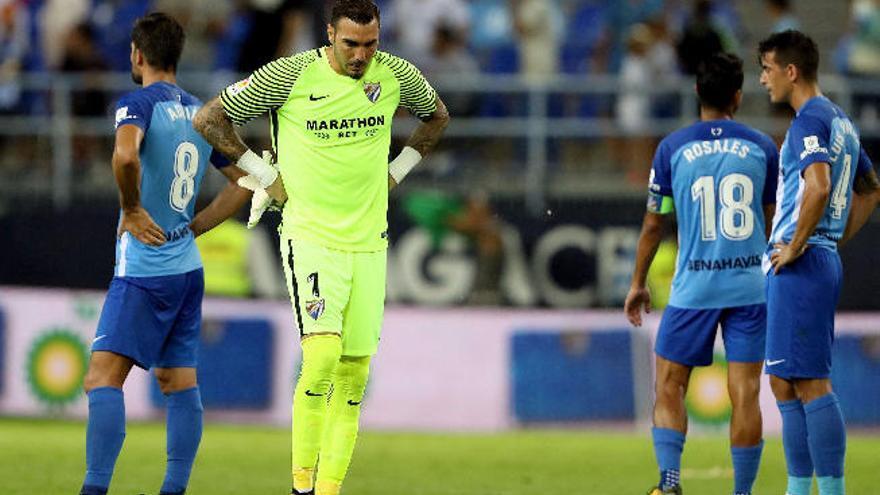 El Málaga añora a Sandro