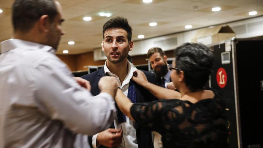El Campoamor debuta en la moda con Hannibal Laguna, Ruiz de la Prada y Miguel Marinero