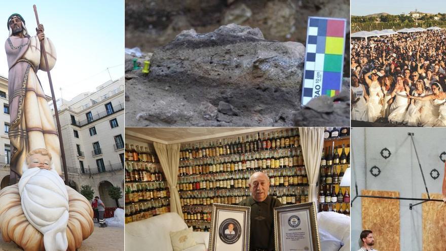 Del Belén más alto a la caca humana más antigua, los récords Guinness de Alicante