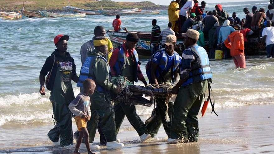 Clases de buceo en Senegal por una buena causa