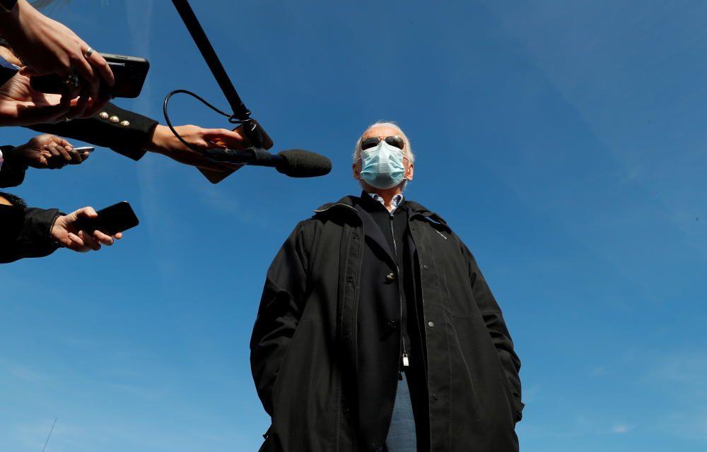 U.S. President-elect Joe Biden departs ...