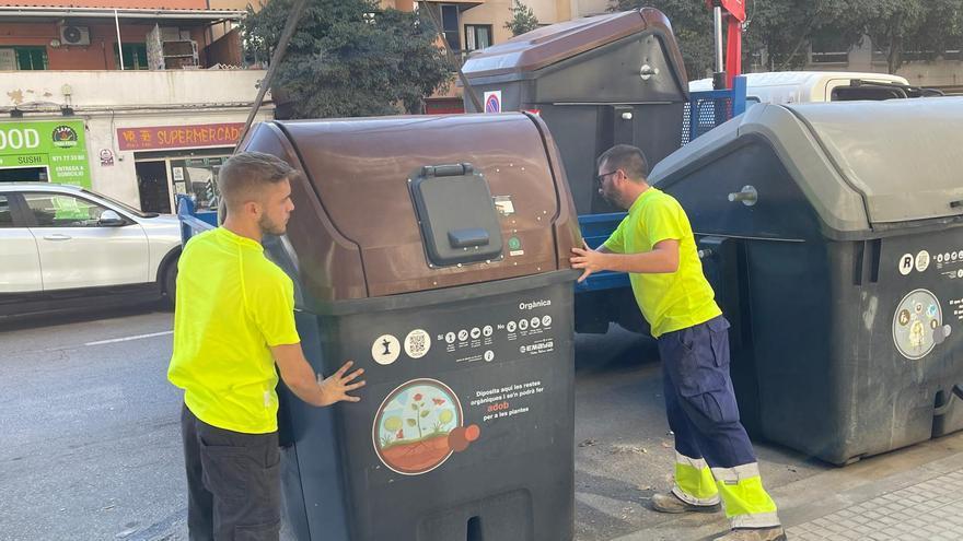 Emaya implanta la recogida orgánica de basuras en 21 barrios de Llevant