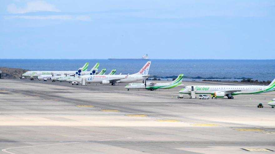 Las aerolíneas confirman 125.000 plazas semanales a Canarias desde julio