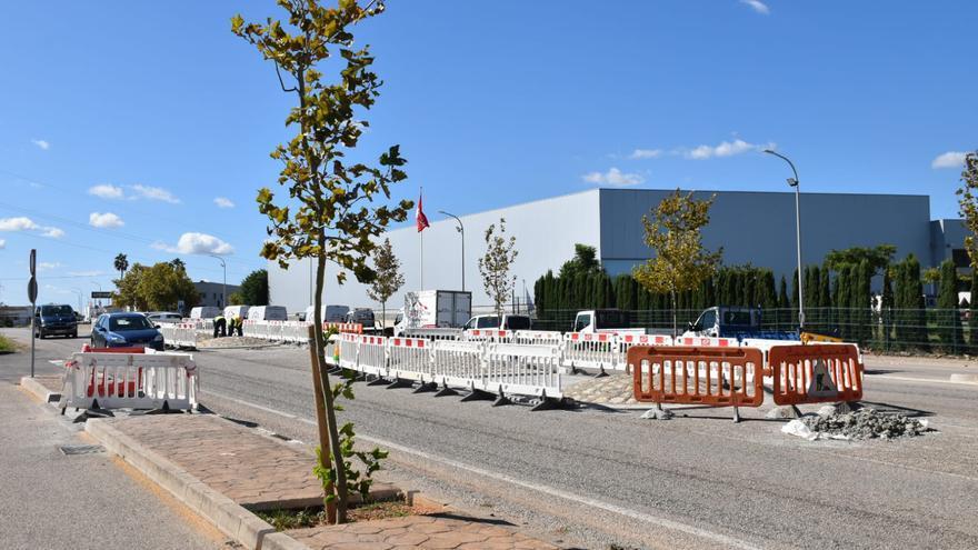 Inca reordena el tráfico en los accesos a instalaciones deportivas