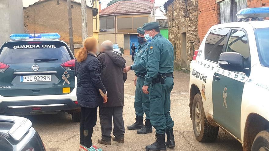 Localizado un anciano de 98 años de Sarracín de Aliste desaparecido a mediodía