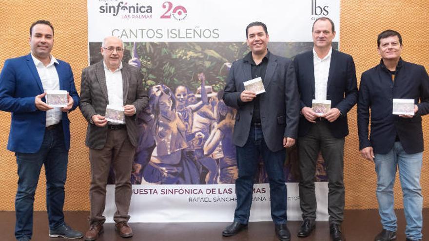La Orquesta Sinfónica de Las Palmas celebra dos décadas con 'Cantos isleños'