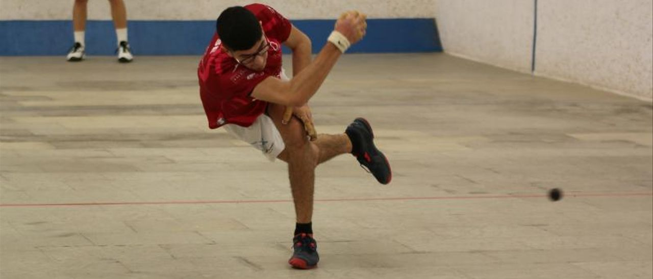 Jose de Xeraco, en acción, durante una partida de la última Lliga Professional Caixabank. | FUNPIVAL