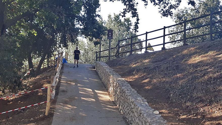 L'obra de millora de la Via Verda de Castelló avança a bon ritme