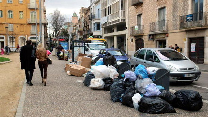 Quins són els motius de la vaga d'escombraries de Figueres?
