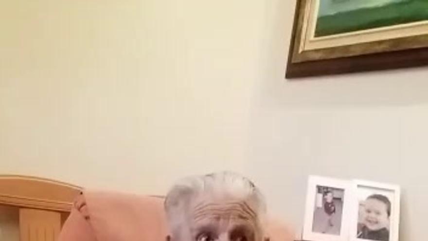 La abuela de Monesterio cumple 100 años confinada