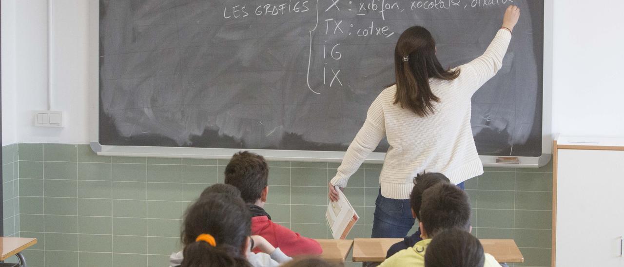El Valenciano vuelve a estar en el punto de mira este curso por la falta de docentes.
