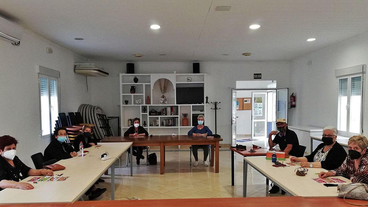 Miembros de la Asociación de Mayores La Granjuela.