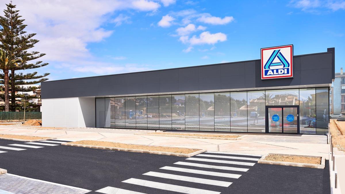 El nuevo supermercado Aldi de Cala Millor.