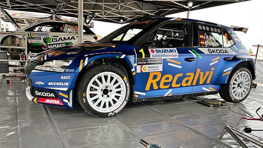 Sierra Morena, primera cita de la temporada de rallyes