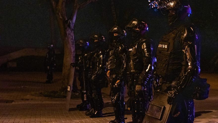 Un joven muere tras enfrentarse a la Policía en Bogotá