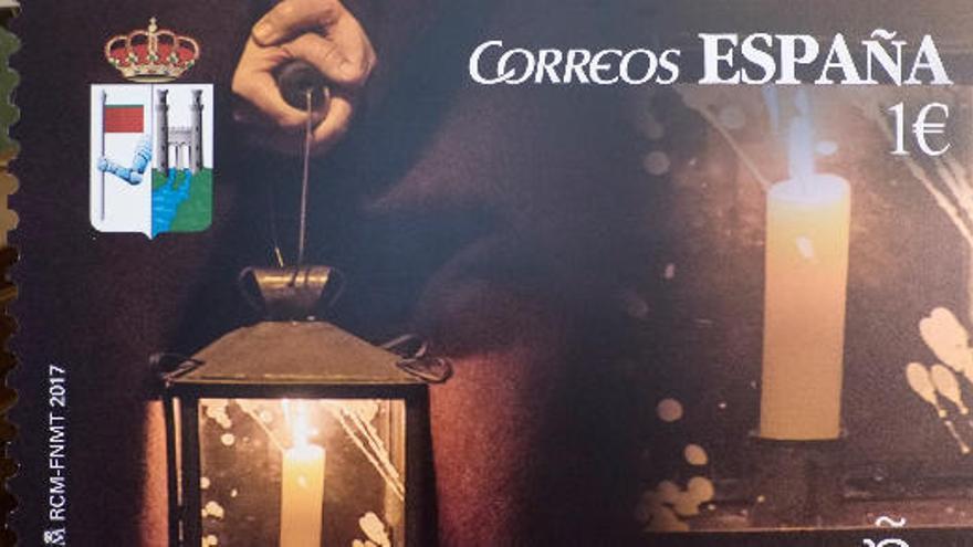 Correos elige Zamora para editar un sello especial de Semana Santa