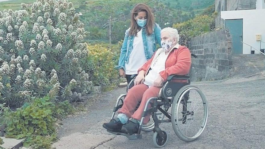 Servicio de acompañamiento a los mayores de Gáldar