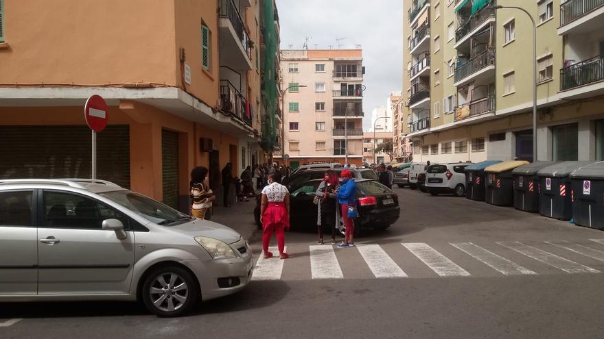 Suspendidos los desahucios de dos familias en el barrio de Son Gotleu