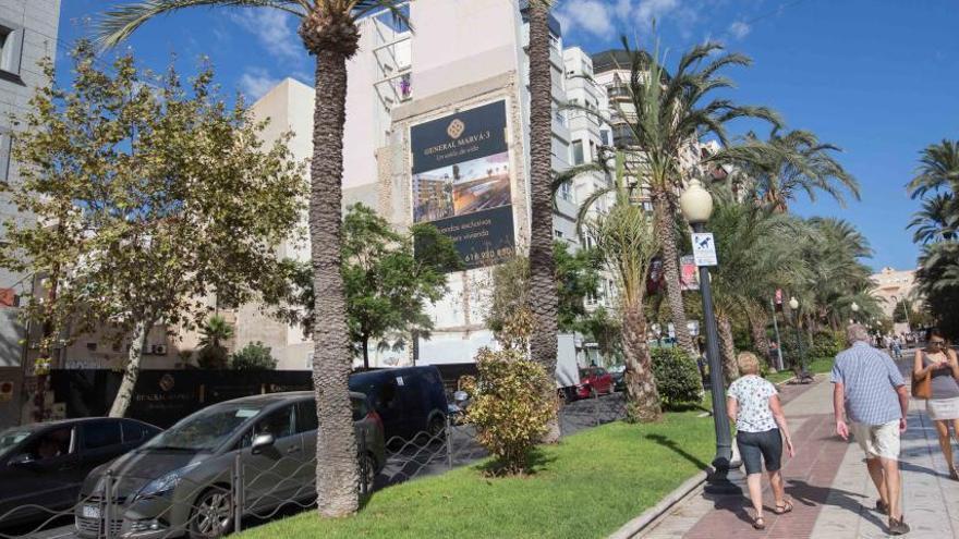 Urbanismo desbloquea la construcción de un edificio de lujo en el centro de Alicante