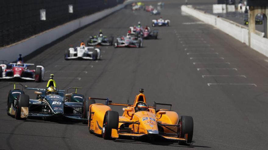Fernando Alonso se sorprende por el interés que está generando la 'Indy 500' en España