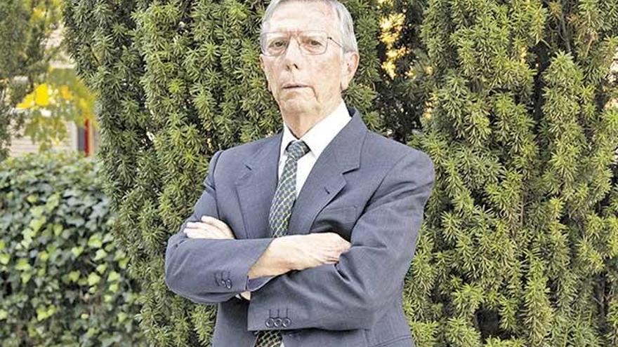 """Alonso Rodríguez Navarro: """"Si prescindimos de los fertilizantes  solo comerán  los ricos"""""""