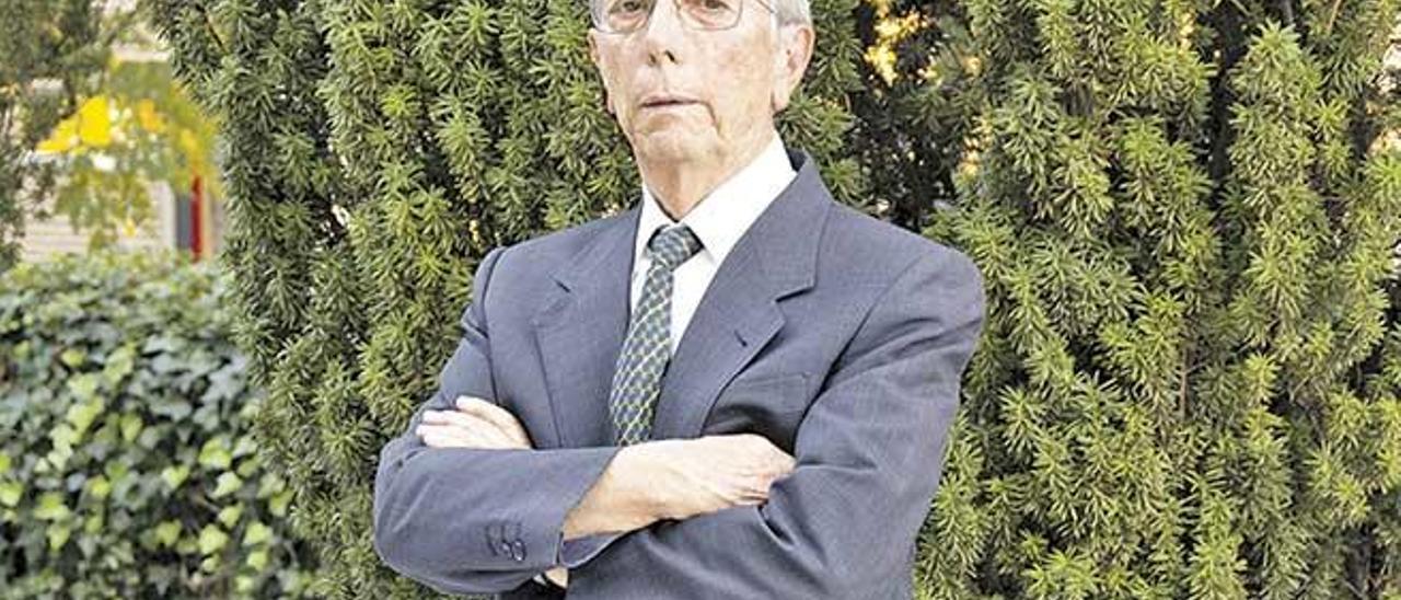 El biólogo molecular Alonso Rodríguez Navarro.