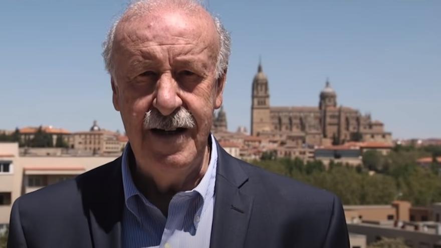 VÍDEO | El vídeo sobre Salamanca de Vicente del Bosque que se ha convertido en viral