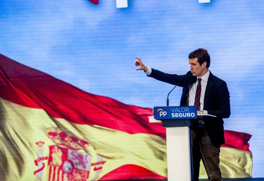 Pablo Casado reivindica que solo el PP defiende a las clases medias.